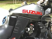 黒銀2ドアトレノさんのGSX1200S KATANA (カタナ) リア画像
