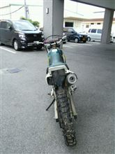 hiroshi1028さんのジェベル200 リア画像