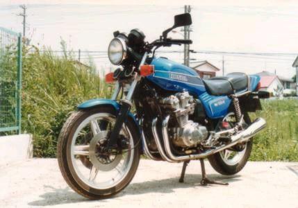 ルパン555さんのCB750FZ