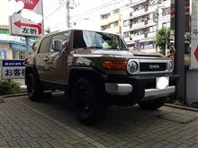 トヨタ FJクルーザー CBA-GSJ15W-GKASK-B