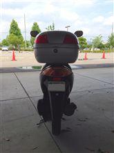naoki.tさんのアドレスV50 リア画像