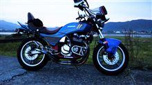ターマンさんのGPz400F 左サイド画像