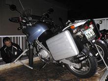ムロちんさんのF650GS リア画像