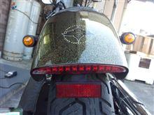 ハンギョどんさんのソフテイル FXS ブラックライン リア画像