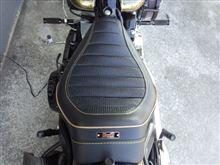 ハンギョどんさんのソフテイル FXS ブラックライン インテリア画像