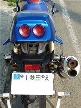 いづぴょんさんのGSX250S KATANA (カタナ) リア画像