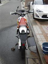 えるうぇいさんのCRM50 リア画像