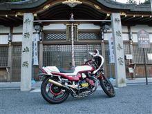 Y.A.garageさんのCBX400F リア画像