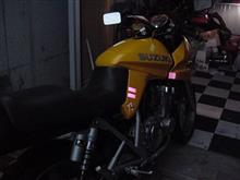 桃香。さんのGSX250S KATANA (カタナ) 左サイド画像