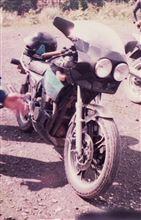 グラ爺さんのXJ400 リア画像