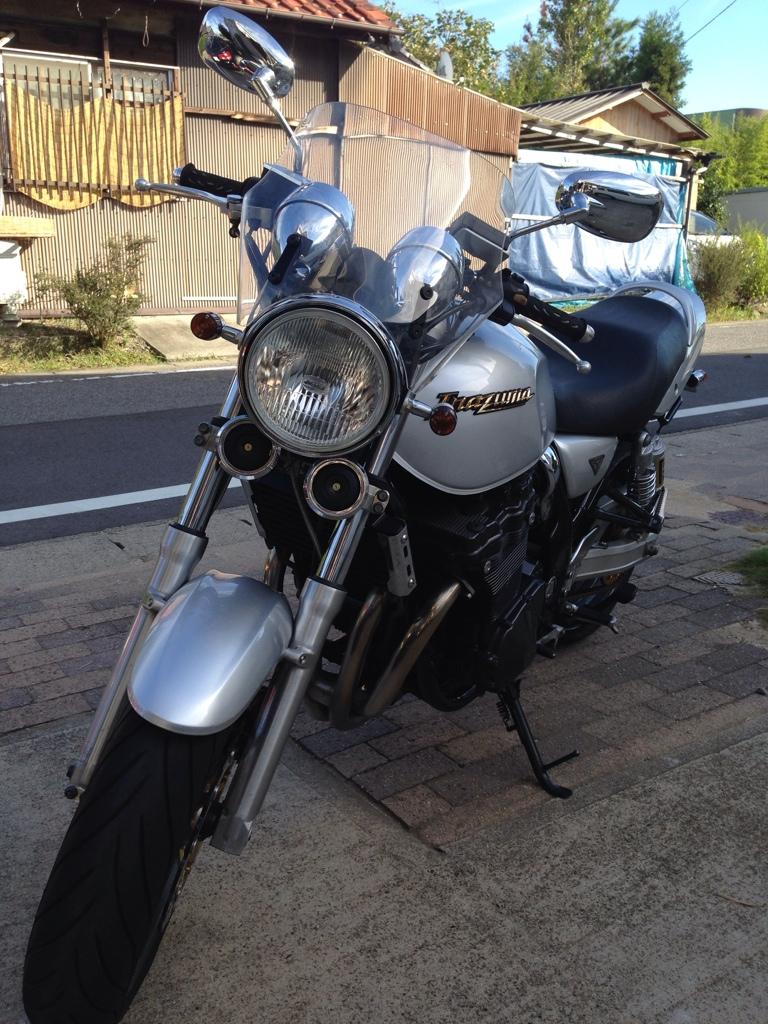 らうちーさんのGSX750W (イナズマ)