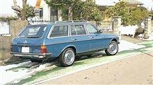 W123-新米userさんのミディアムクラス ワゴン 左サイド画像