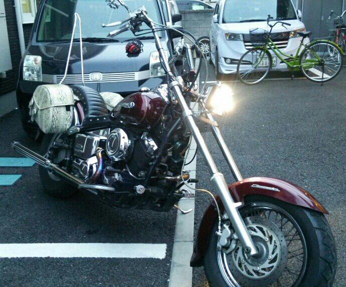 しゅんちーさんのドラッグスター400