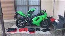 KureB18CさんのZX-6R Ninja リア画像