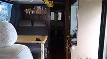 扇子無男さんのシビリアンバス インテリア画像