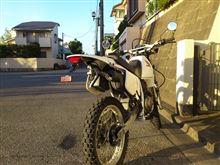 竹内兄弟さんのXLR200R リア画像