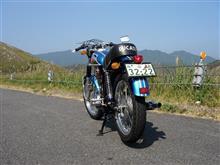 バイクオヤジGOGOさんの450 デスモ リア画像