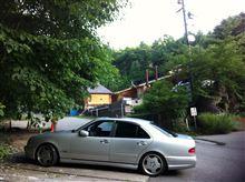 白い稲妻ぷーさんのAMG E55 リア画像