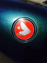 kawa蠍さんのブロス400 リア画像