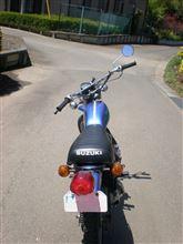 *Luna*さんのハスラー(バイク) 左サイド画像