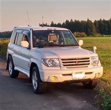 太ろおさんの愛車:三菱 パジェロイオ