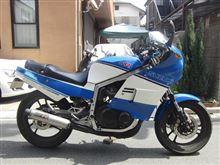 えるうぇいさんのGSX-R400 左サイド画像
