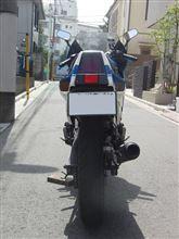 えるうぇいさんのGSX-R400 リア画像