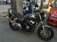 Freude am Fahren@F32さんのCB400 SUPER FOUR HYPER VTEC spec3 左サイド画像