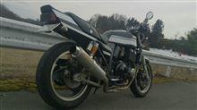 タビジンさんのZRX400-II リア画像