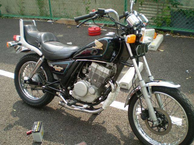 ホンダ CBX125 カスタム