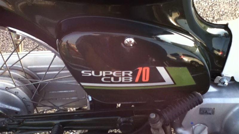 cub70さんのスパーカブ70