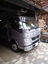 小江戸の屋根屋さんの愛車:三菱 キャンター