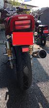 YBRさんのXJR400 リア画像