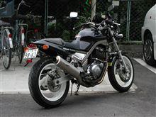 エンジン(猿人)さんのSRX600 リア画像