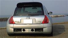 Cliov6さんのクリオ V6 ルノー スポール  (ルーテシア) リア画像