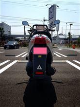 CUNE-masakiさんのアドレス110 リア画像