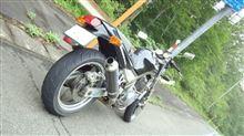 garyuさんのSRX600 リア画像
