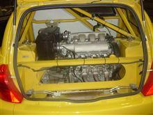 CHIP君さんのクリオ V6 ルノー スポール  (ルーテシア) リア画像