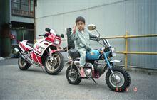 ポンピヨピヨさんのRZV500R 左サイド画像