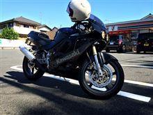 まるごと苺大福さんのZXR250 左サイド画像