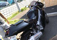 まるごと苺大福さんのZXR250 リア画像
