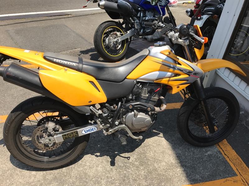 ホンダ XR230 モタード