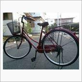 あつりんさんの自転車