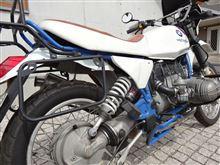 モトヤスさんのR80GS BASIC リア画像