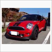 紅の熊さんのMINI Coupe