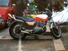 てっちゃん@浜松さんのGSX400F 左サイド画像