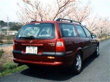 kanchan-carさんのベクトラワゴン リア画像