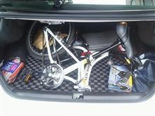 Dr.たかし(nan-taka)さんの折りたたみ自転車 リア画像