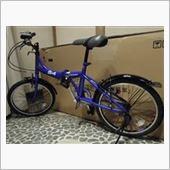 おすぎ鹵さんの折りたたみ自転車