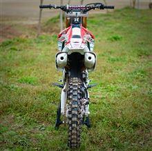 blogucciさんのCRF250R リア画像